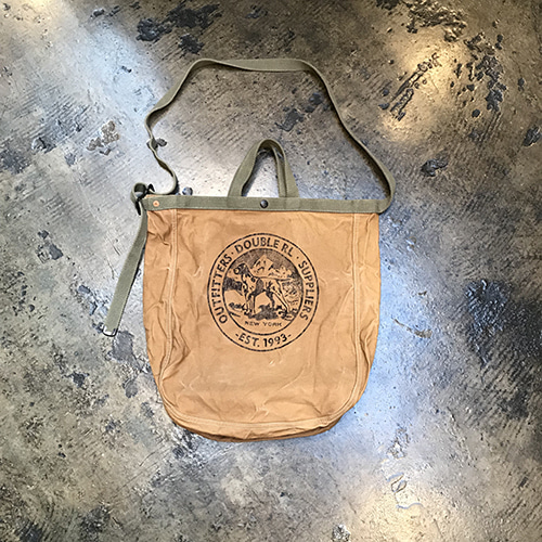 Double RL Canvas Market Tote Bag