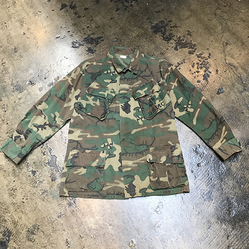 60's Usmc ERDL Camo Jungle Fatigue Jacket