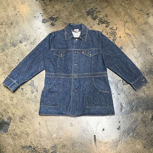 70's Levi's Denim Sack Coat